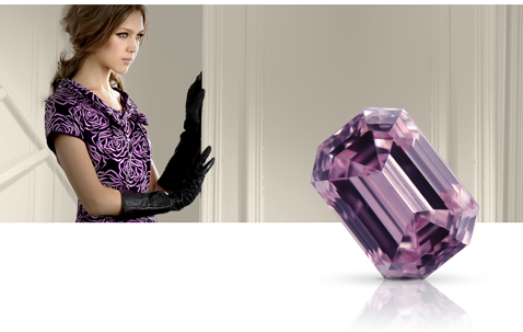 Natural Fancy Purple Diamonds