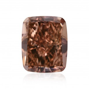 Fancy Deep Brownish Orangy Pink Diamond