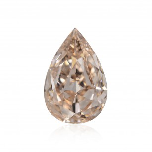 Fancy Light Brown Pink Diamond