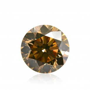 Fancy Yellow Champagne Diamond