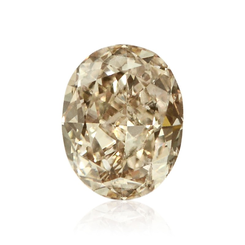 Champagne Oval Diamond