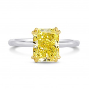 Cut-cornered Double Prong Solitaire Ring Setting, SKU 1002S