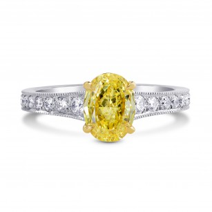 Graduated Closed Pave Diamond Side-stone Ring Setting, SKU 2424S