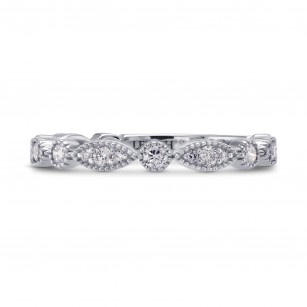 Designer Wedding Ring with Marquise Pave Motifs, SKU 254173 (0.34Ct TW)