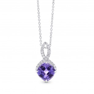 Tanzanite & Diamond Drop Pendant, SKU 273597 (2.20Ct TW)