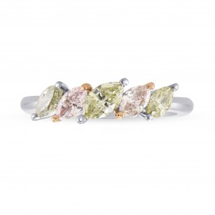 Multicolored Marquise Diamond Band Ring, SKU 275007 (0.83Ct TW)