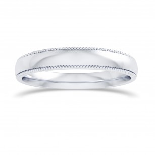 Wedding Band with Milgrain-3.0MM, SKU 27680R