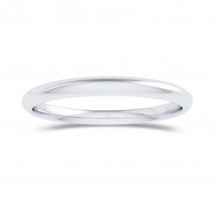 Comfort Fit Domed Wedding Band-2.0MM, 商品編號 27794R