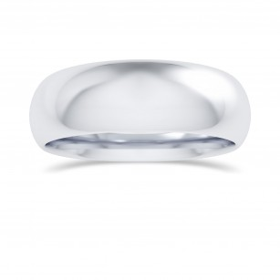 Comfort Fit Domed Wedding Band-6.0MM, SKU 27795R