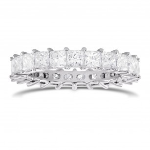 Princess-cut Diamond Full Eternity Band Ring, SKU 290467 (3.33Ct TW)