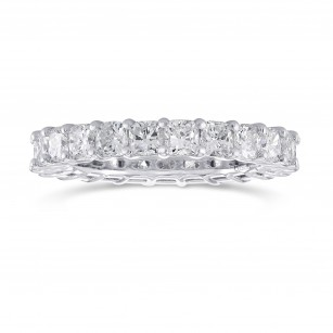 Cushion Diamond Full Eternity Band Ring, SKU 291109 (3.23Ct TW)