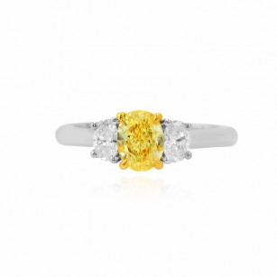 3 Stone Oval Diamond Ring Setting, SKU 40206S