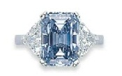 6.60ct Fancy Intense Blue Emerald-2011
