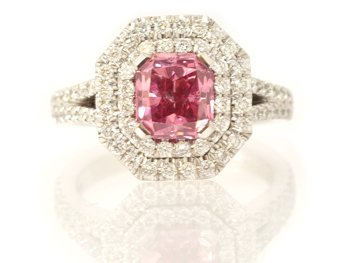 Leibish Prosperity Pink Diamond Engagement Ring