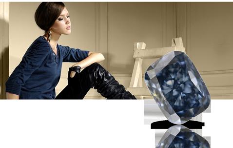 Natural Fancy Blue Diamonds