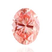 Fancy Vivid Orangy Pink