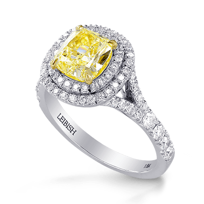 Classic Double Halo Ring