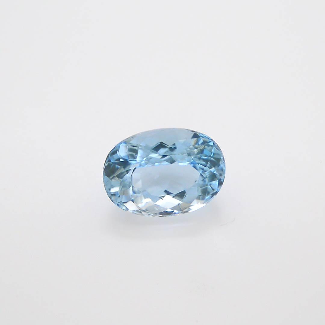 4 20 Carat Blue Brazilian Aquamarine Oval Shape Sku 296029