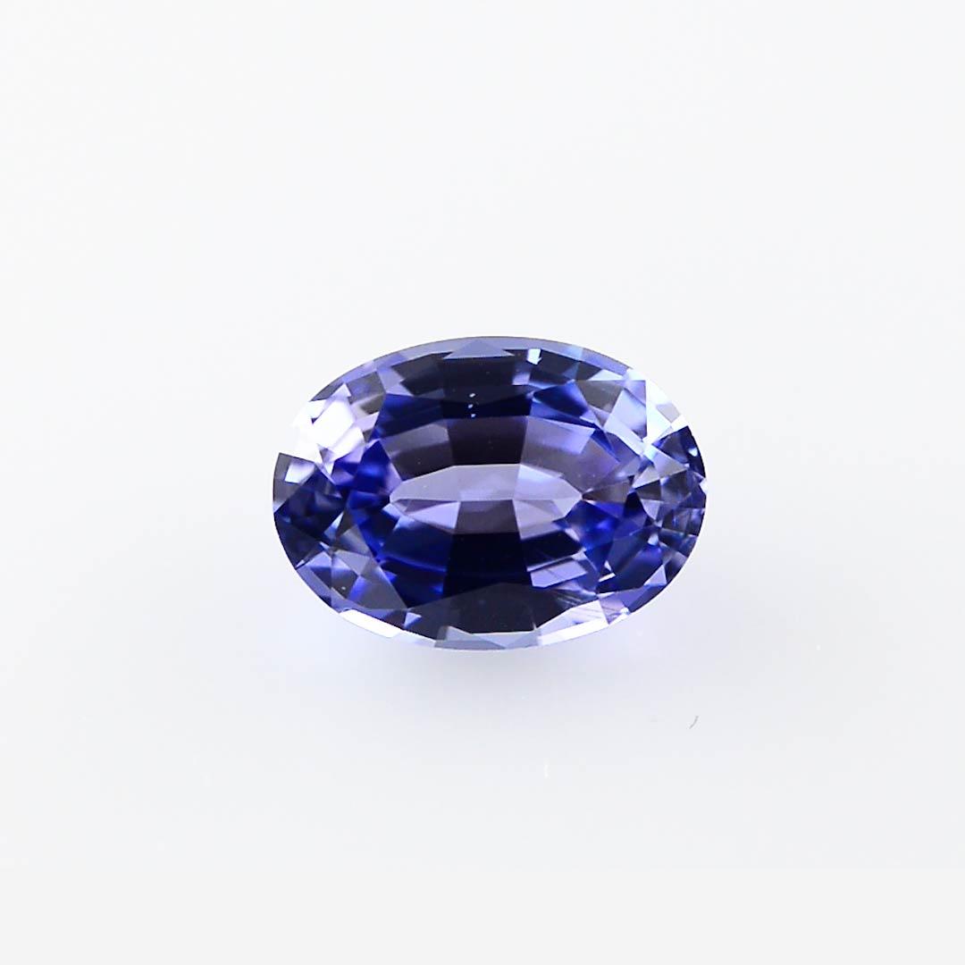 Lavender Tanzanite: 2.47 Carat, Blue, Tanzanite, Oval Shape, SKU 277525