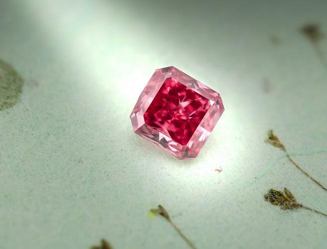 Hancock Red Diamond | Leibish