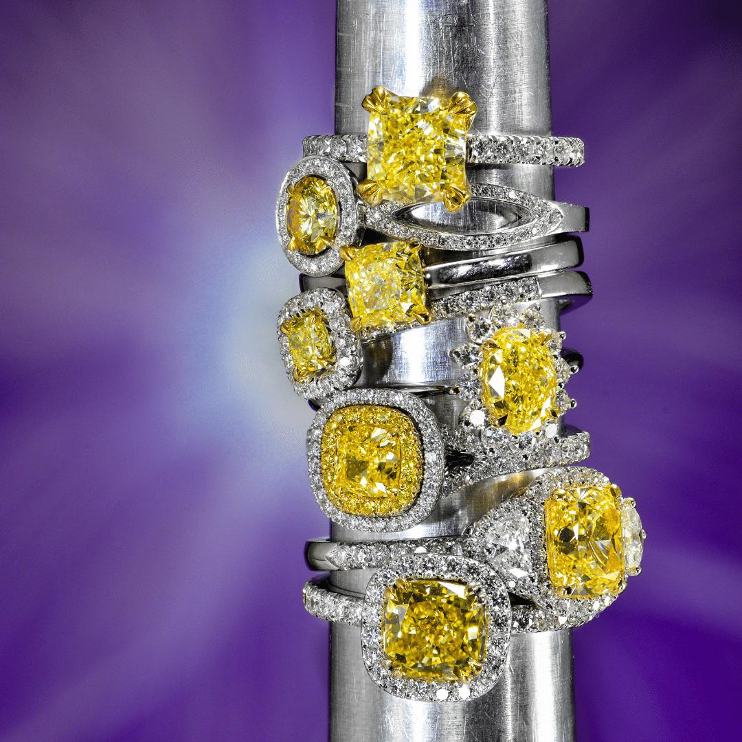 How to Set Yellow Diamond Jewelry   Leibish