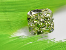 Largest Vivid Green Diamond at Auction | Leibish