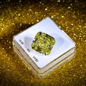 19.65 carat, Fancy Intense Yellow Diamond, Ra