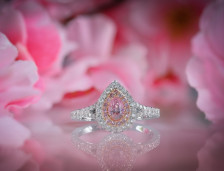 Pink Diamond Engagement Rings For Women | Leibish