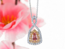 Pink Diamond Pendants | Leibish
