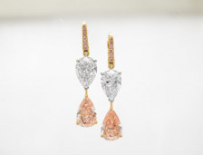 Pink Diamond Earrings | Leibish