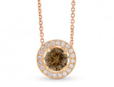 Champagne Diamond Pendants | Leibish