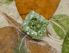 Fancy Green Diamonds Shining Bright from Sotheby's Hong Kong | Leibish