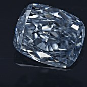 Fancy Intense Blue Cushion Shaped Diamond