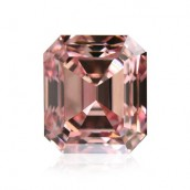 0.71 carat, Fancy Intense Pink, Emerald Shape