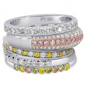 Leibish Diamond Bands
