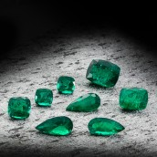 Leibish Emeralds