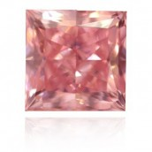 The 1.45-carat, Argyle Pink Princess Cut Diam