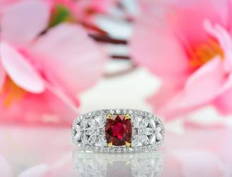 Red Ruby Jewelry | Leibish