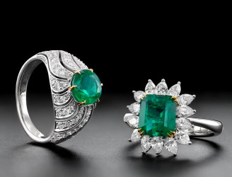 Famous Emerald Engagement Rings | Leibish