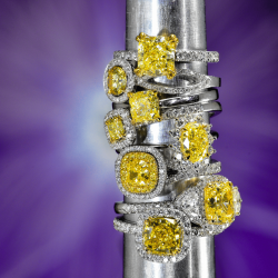 How to Set Yellow Diamond Jewelry | Leibish