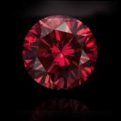 Red Round Diamond from Leibish