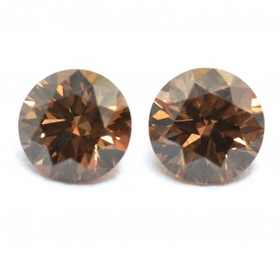 Fancy Deep Orangy Champagne Diamond
