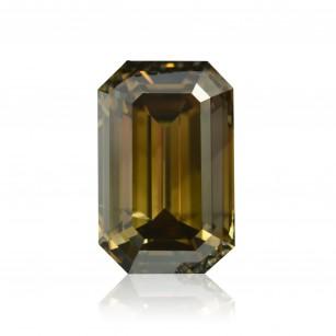 Fancy Dark Brown Greenish Yellow Diamond