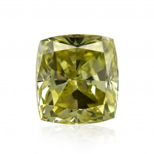 Fancy Grayish Greenish Yellow Diamond