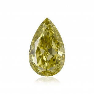 Fancy Deep Brownish Greenish Chameleon Diamond
