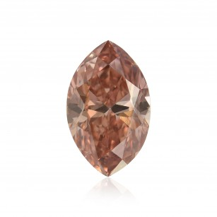 Fancy Orangy Pink Diamond