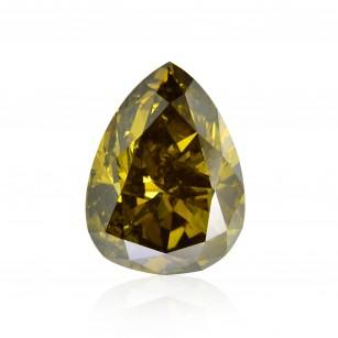 Fancy Dark Brown Greenish Chameleon Diamond
