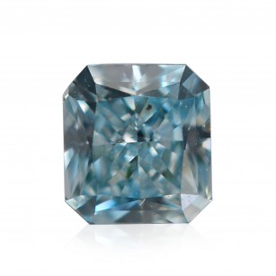 Fancy Intense Blue Green Diamond