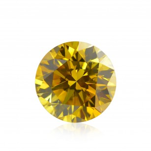 Fancy Deep Orangy Yellow Diamond