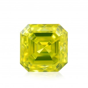 Fancy Vivid Green Yellow Diamond